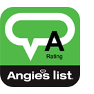 Angie's List A+ Rating